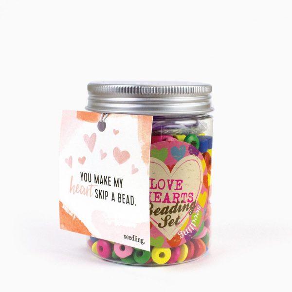 seedling heart beads valentine's gift