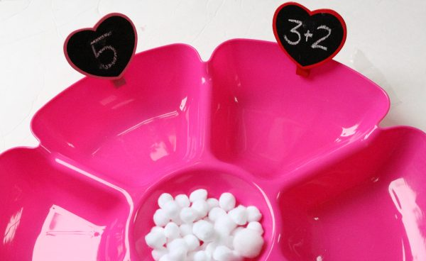 valentine's day math activity for kindergarten