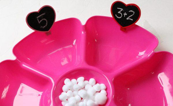 valentine's day math activity for kindergarten