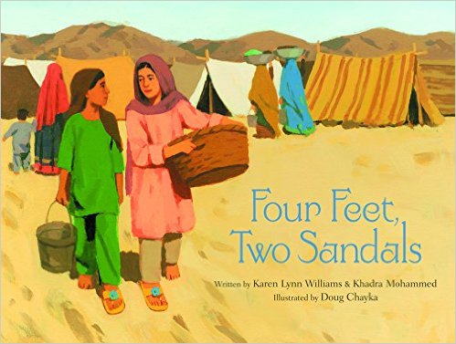 Books about refugees and muslim chracters for kids