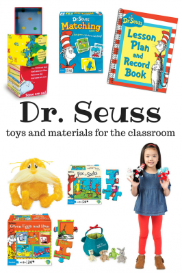 Dr. Seuss Toys & Materials For Your Classroom