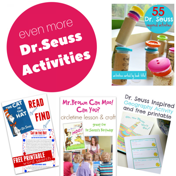 Dr.Seuss Activities