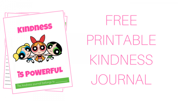 FREEPRINTABLEKINDNESS JOURNAL