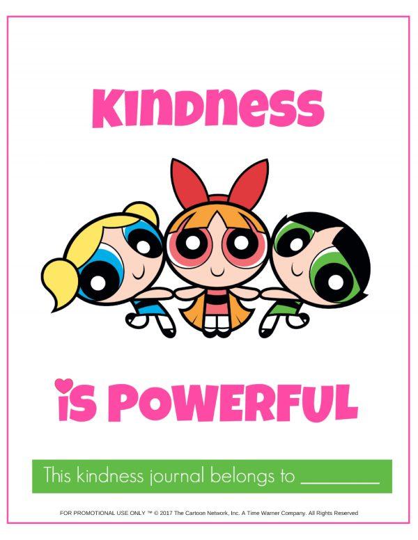 Kindness Journal PowerPuff Girls cover photo