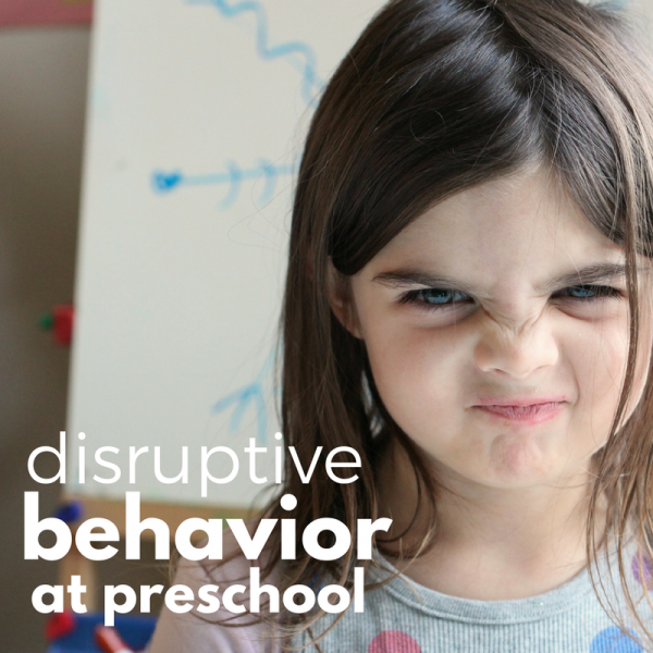 disruptive behavior at preschool