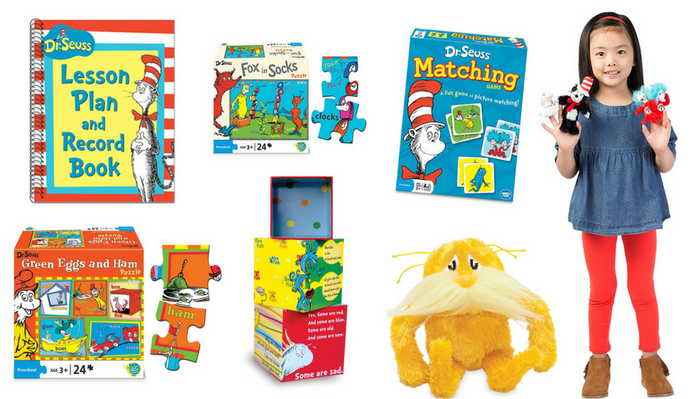 dr. seuss toys and materials for preschool