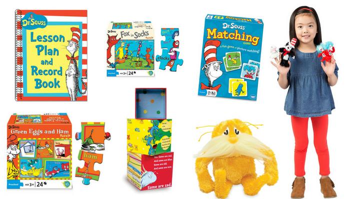 dr. seuss toys and materials for preschool
