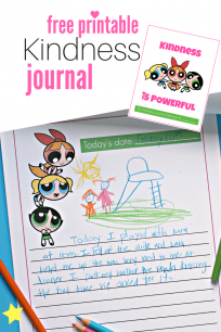 Powerpuff Kindness Journal #ad #PowerPuffOnHulu
