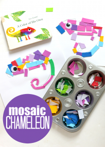mosaic craft for preschool