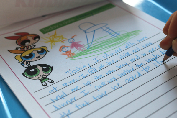 power puff girls kindness journal writing