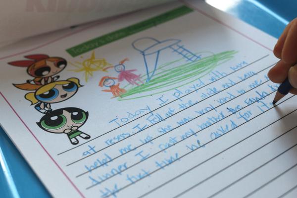 power puff girls kindness journal writing