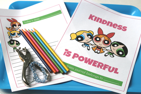 power puff girls kindness journal