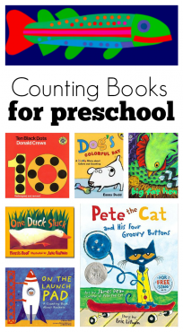 the best counting books for preschool