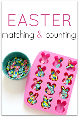 Easter Matching and Counting Activities For Preschool