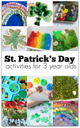 21 St. Patrick's Day Activities for 3-Year-Olds