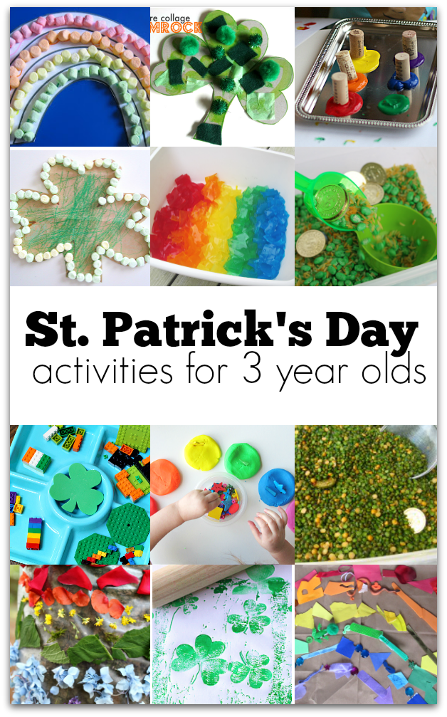 ST. PATRICK'S DAY CRAFTS FOR 3 YEAR OLDS