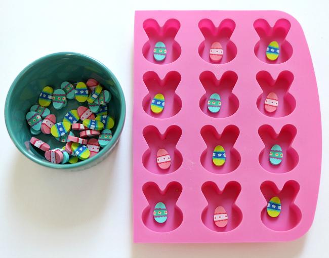 bunny matching tray