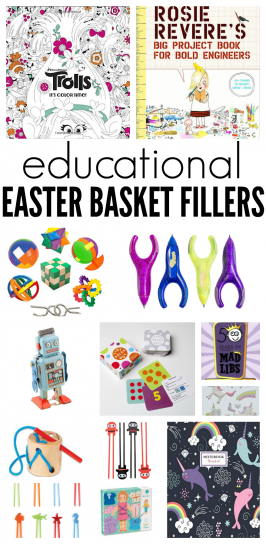 Educational Easter Basket Fillers
