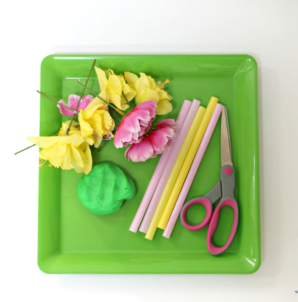 flower tray hand eye coordination activity for preschool