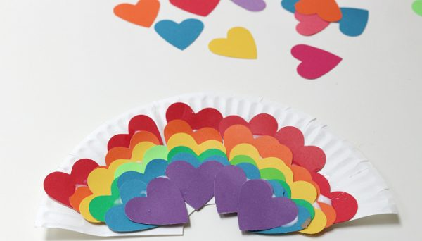 preschool valentine's day craft