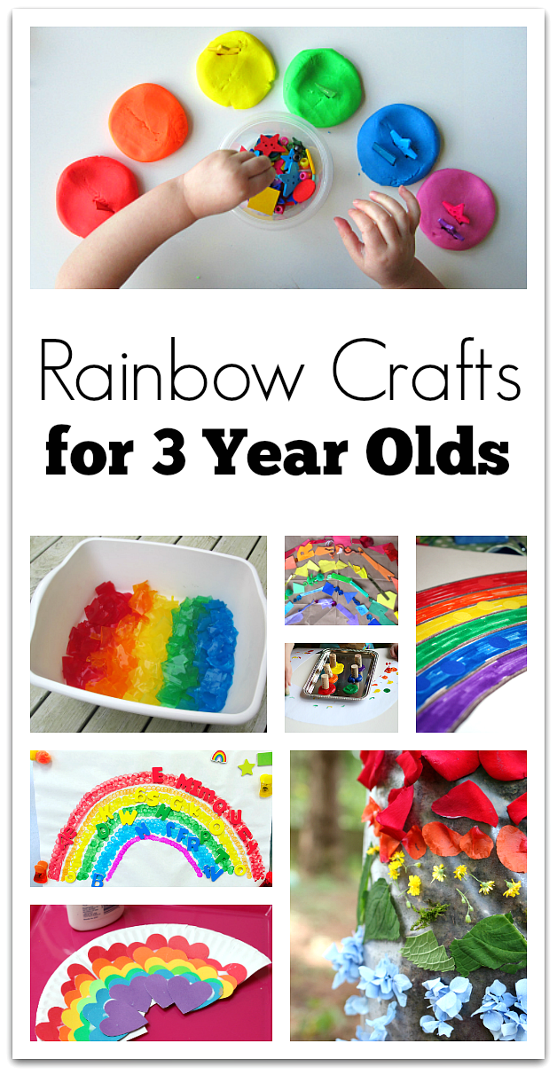 Rainbow Crafts For 3 Year Olds No Time For Flash Cards
