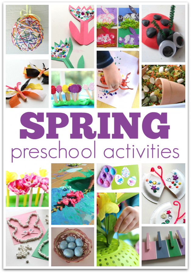 Big List Of Spring Preschool Activities No Time For Flash Cards