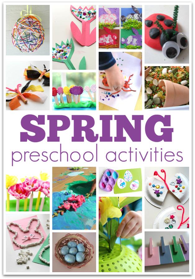 Spring activities for preschool