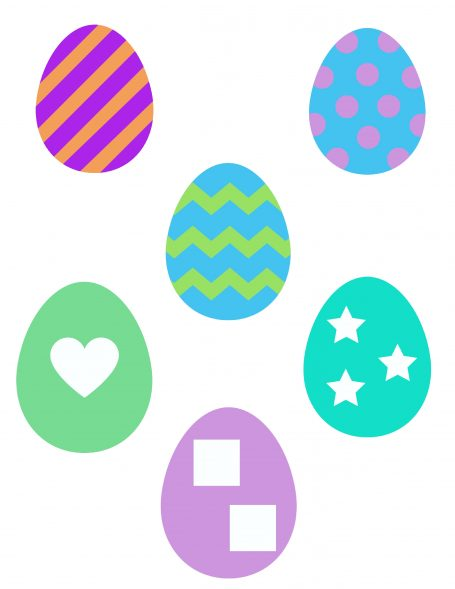 Easter Egg Patterns Page 1