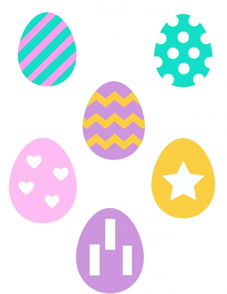 Easter Egg Patterns Page 2