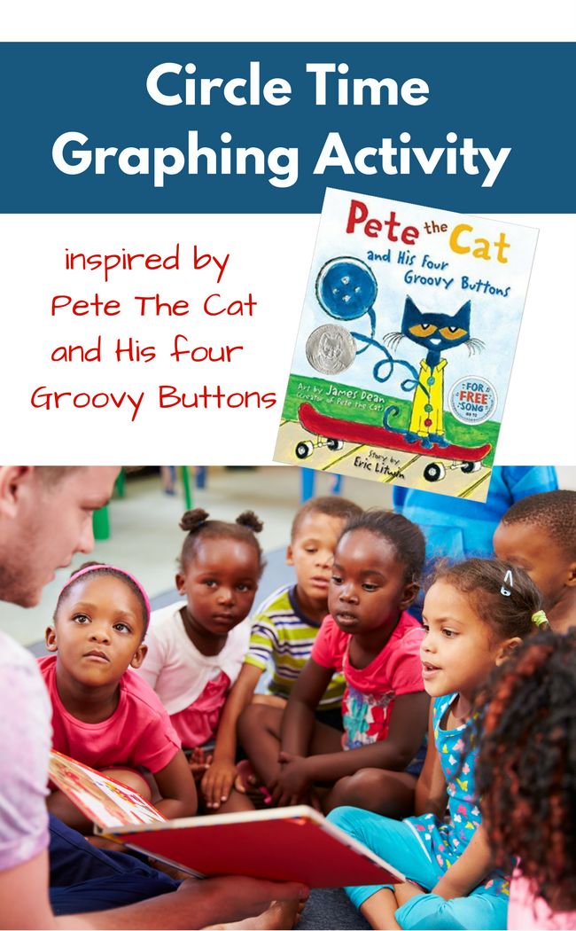Graphing Activity with Pete The Cat from No Time For Flash Cards