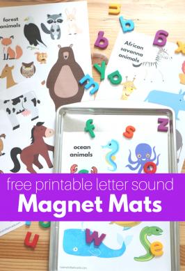 Letter Sounds Magnet Mats