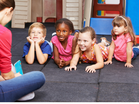 Spring circle time lesson for preschool
