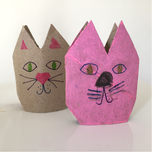 kitten craft done