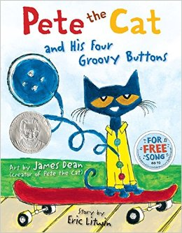 pete the cat 4 groovy buttons