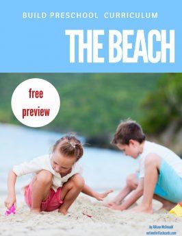 FREE Thematic Unit for Preschool – Sneak Peek