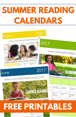 Summer Reading Calendars 2017 – Free Printable Reading Prompts