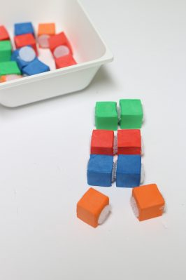 Velcro Block Patterns with Free Printables