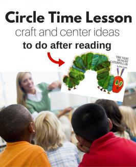 The very hungry caterpillar activities for preschool