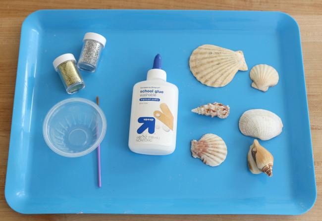 beach shell art project