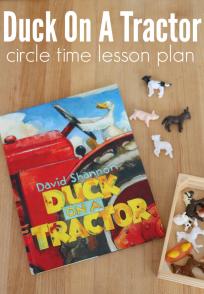 farm circle time activity for preschool