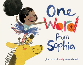 one word from sophia - books with african american girl main characters