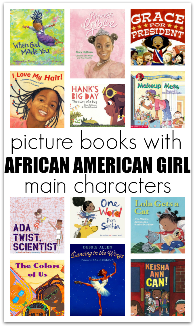 20 picture books with african american girl characters no time for