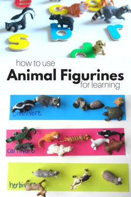 13 Ways To Use Animals Figurines for Learning