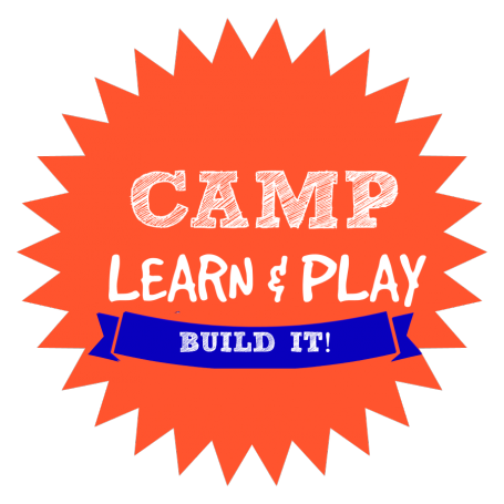 CAMP LEARN AND PLAY LOGO BUILD IT WEEK