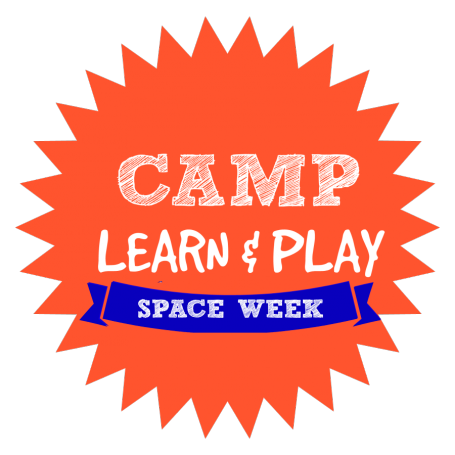 CAMP LEARN AND PLAY LOGO SPACE WEEK