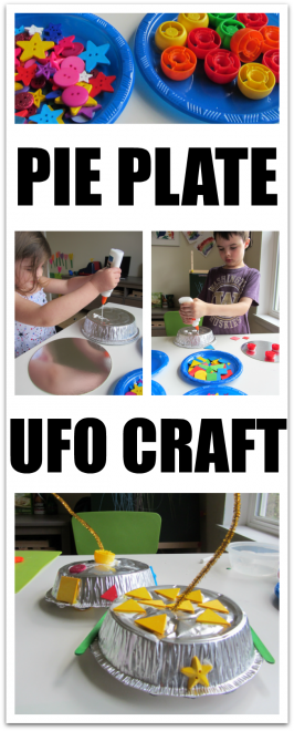 Pie Plate UFO – Space Craft for Kids