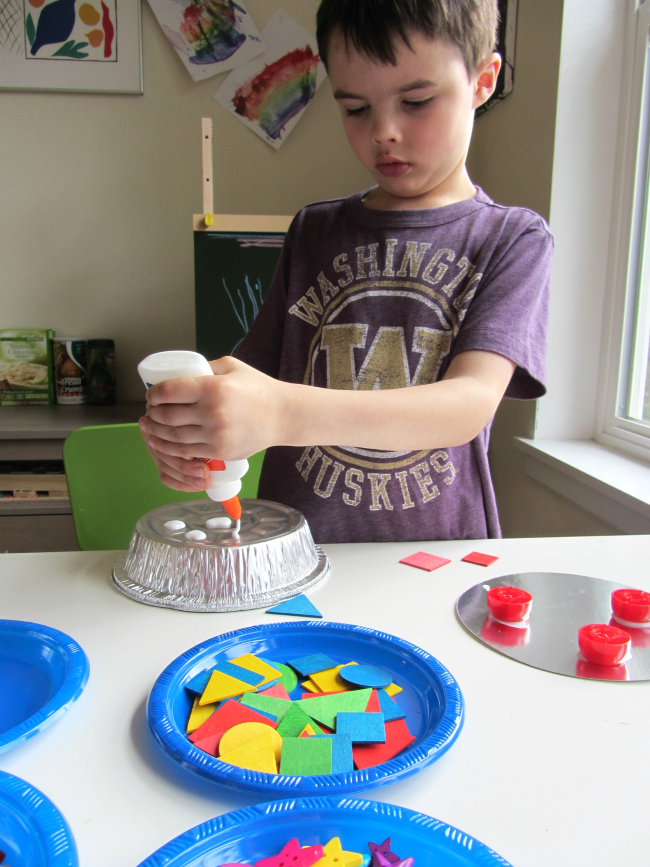 Space craft for kindergarten UFO