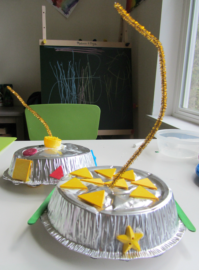 UFO space craft for kids