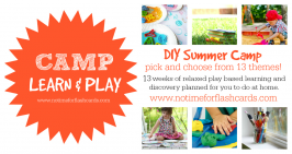 Camp Learn & Play Free Summer Camp at Home – Build It Week!