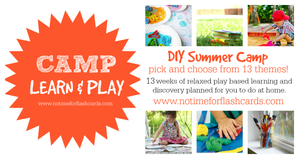 camp learn and play from no time for flash cards 2017